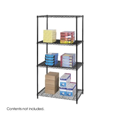 "Safco Products Company Industrial 72"" H 3 SHelf Shelving Unit Starter"