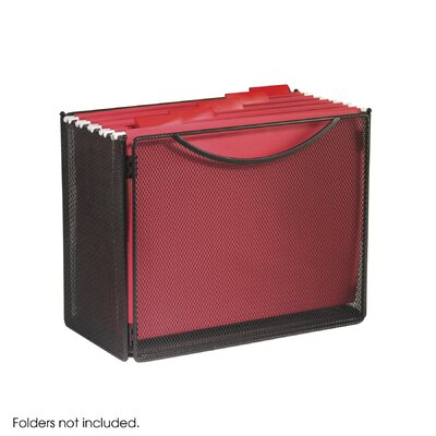 Safco Products Company Desktop File Storage Box, Steel Mesh