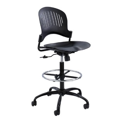 Safco Products Company Zippi Plastic Extended-Height Chair