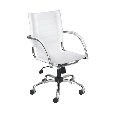 Safco Products Flaunt Series Mid-Back Managerial Chair