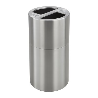 Safco Products Company Dual Recycling Receptacle