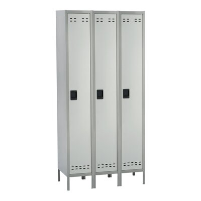 Safco Products Company Single Tier Locker