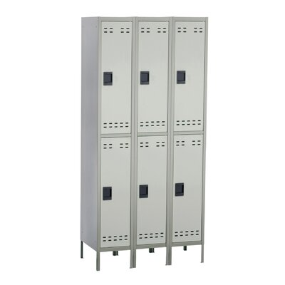 Safco Products Company Double Tier Locker