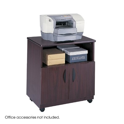 Laminate Machine Stand with Open Compartment