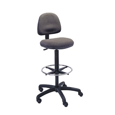 Safco Products Height Adjustable Drafting Chair with Footring