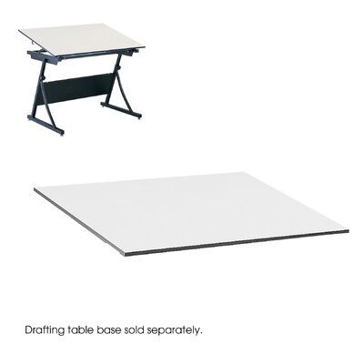 "Safco Products Company Drafting Rectangular Table Top, 60"" Wide"