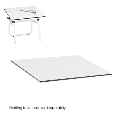 "Safco Products Company Drafting Rectangular Table Top, 48"" Wide"