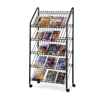 Safco Products Company Mobile Literature Rack
