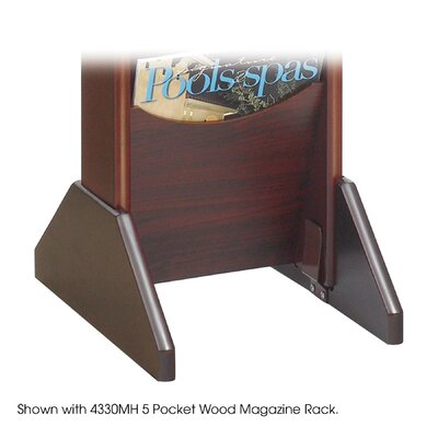 Safco Products Company Wood Display Base