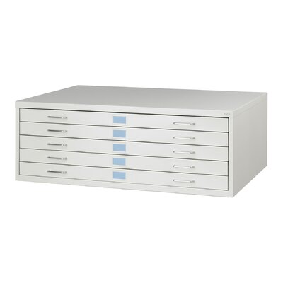 Safco Products Company Medium Facil Flat File Cabinet