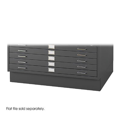 Safco Products Company Low Base for Models 4986 and 4996 Steel Flat File