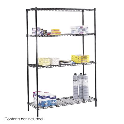 Safco Products Company Commercial Wire Shelving 48&quot;W Unit