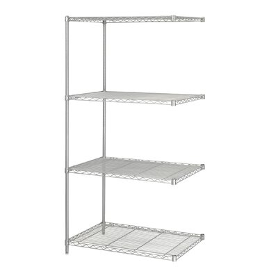 "Safco Products Company Industrial Wire Add-On Unit (36"" x 24"" Shelves)"