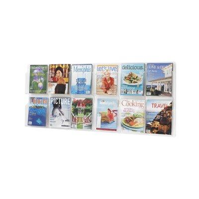 Safco Products Company 12 Pocket Magazine Rack