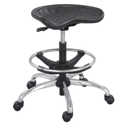 Safco Products Company Sit-Star Stool with Footring and Caster