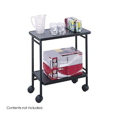 Safco Products Company Folding Office/Beverage Cart