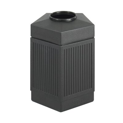 Safco Products Company Canmeleon Indoor/Outdoor Receptacle, 45 Gal