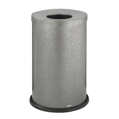 Safco Products Company Fire-Safe Open-Top Waste Round Receptacle