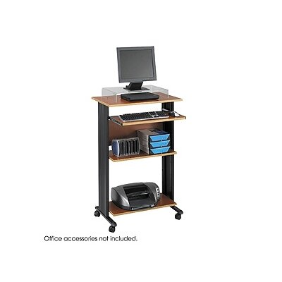 "Safco Products Company MUV 30"" W Fixed Height Stand-Up Workstation"