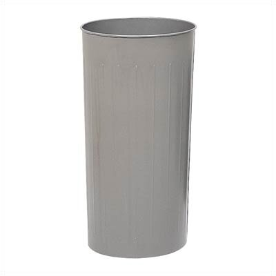 Safco Products Company 80 Quart Round Wastebasket with Self Closing Dome Lid (Set of 3)