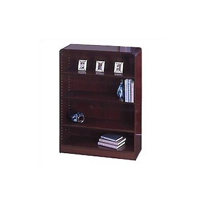"Safco Products Company 48"" H Radius-Edge Bookcase"