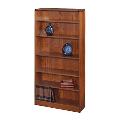 Safco Products Company 72&quot; H Radius-Edge Bookcase