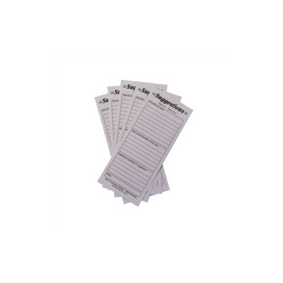 Safco Products Company Suggestion Box Cards