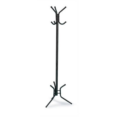 Safco Products Company 3 Ball Tipped Double-Hook Coat Rack
