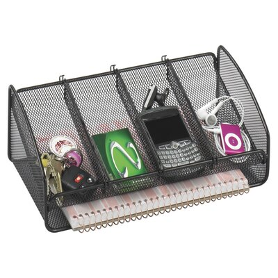 Safco Products Company Metal Mesh Desk Organizer