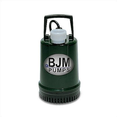 0.15 HP Submersible Dewatering Pump with Ball Type Built-In Float Switch with 33' Cord