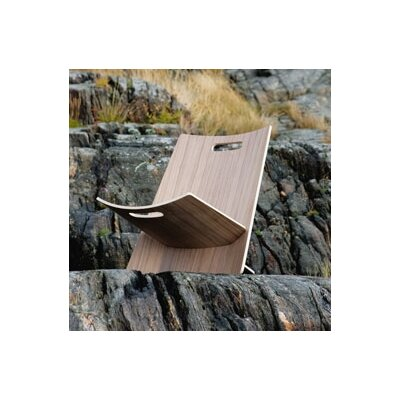 Skagerak Denmark Lean Beach Chair in Black Melamine