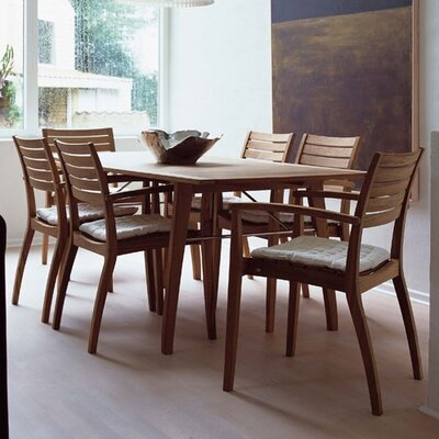 Skagerak Denmark Teak Ballare 7 Piece Dining Set