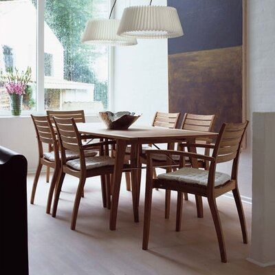 Teak Ballare 7 Piece Dining Set