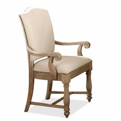 Upholstered Linen Arm Chair Wayfair