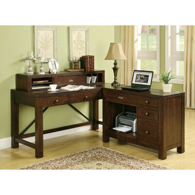 Riverside Furniture Castlewood L Shape Writing Desk