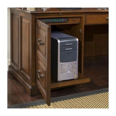 Riverside Furniture Cantata L Shaped Computer Workstation