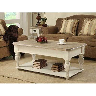 Coventry Two Tone Coffee Table with Lift-Top