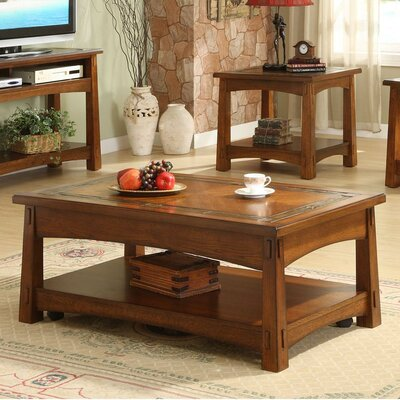 Riverside Furniture Craftsman Home Coffee Table With Lift Top Amp Reviews Wayfair