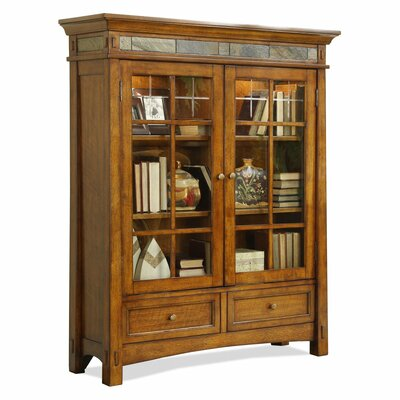 Riverside Furniture Craftsman Home Bookcase