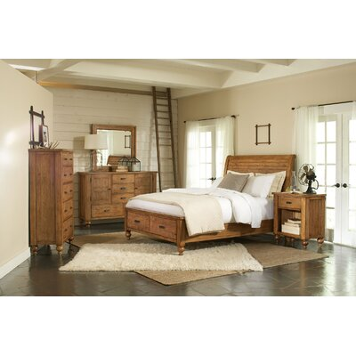 Riverside Furniture Summerhill Storage Sleigh Bedroom Collection