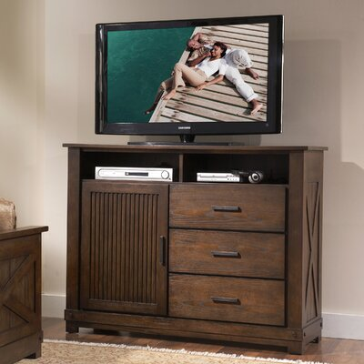 Riverside Furniture Windridge 3 Drawer Media Chest