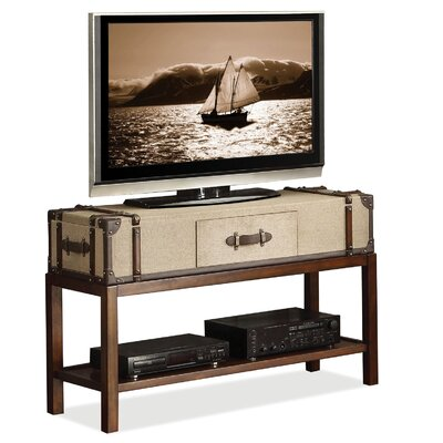 "Riverside Furniture Bon Voyage Suitcase 48"" TV Stand"