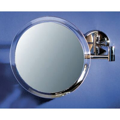 Zadro Wall Mount Mirror in Chrome