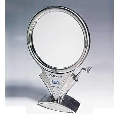 Zadro Z'Fogless Power Zoom Lighted Mirror in Stainless Steel