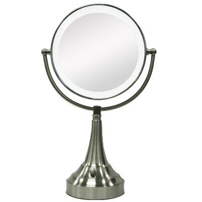 Vanity Mirror With Lights Wayfair : Zadro Round Vanity Mirror with LED Surround Light & Reviews Wayfair