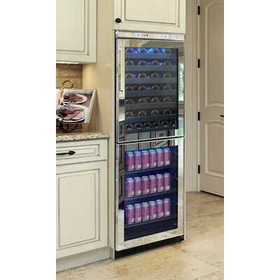 54-Bottle Touch Screen Wine and Beverage Cooler