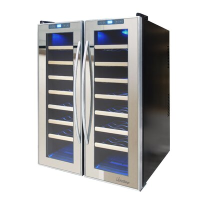48 Bottle Dual Zone Thermoelectric Wine Refrigerator