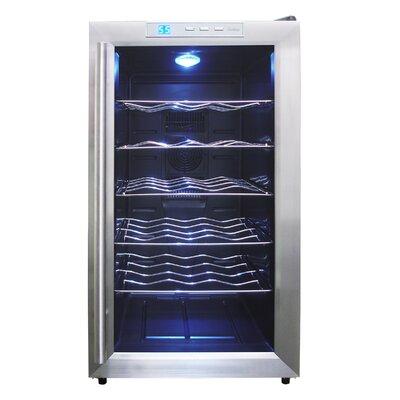 Vinotemp 18 Bottle Single Zone Thermoelectric Wine Refrigerator