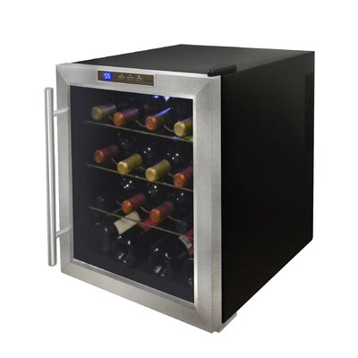 Vinotemp 16 Bottle Single Zone Thermoelectric Wine Refrigerator