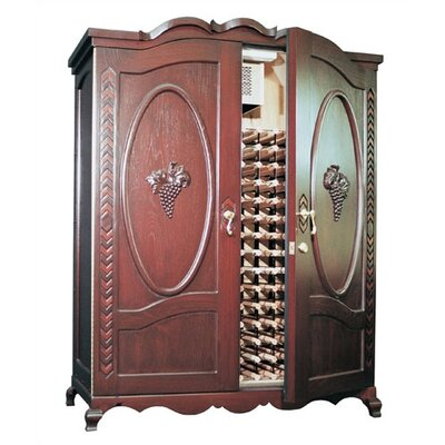 The Louis Napa Oak Wine Cooler Cabinet
